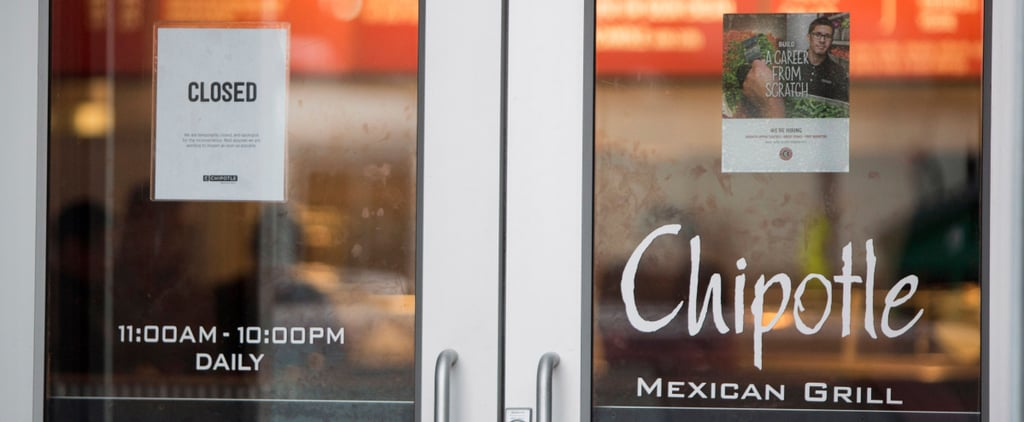 Chipotle Gets Hit With Another Crisis . . . but It's Not E. Coli, Thankfully