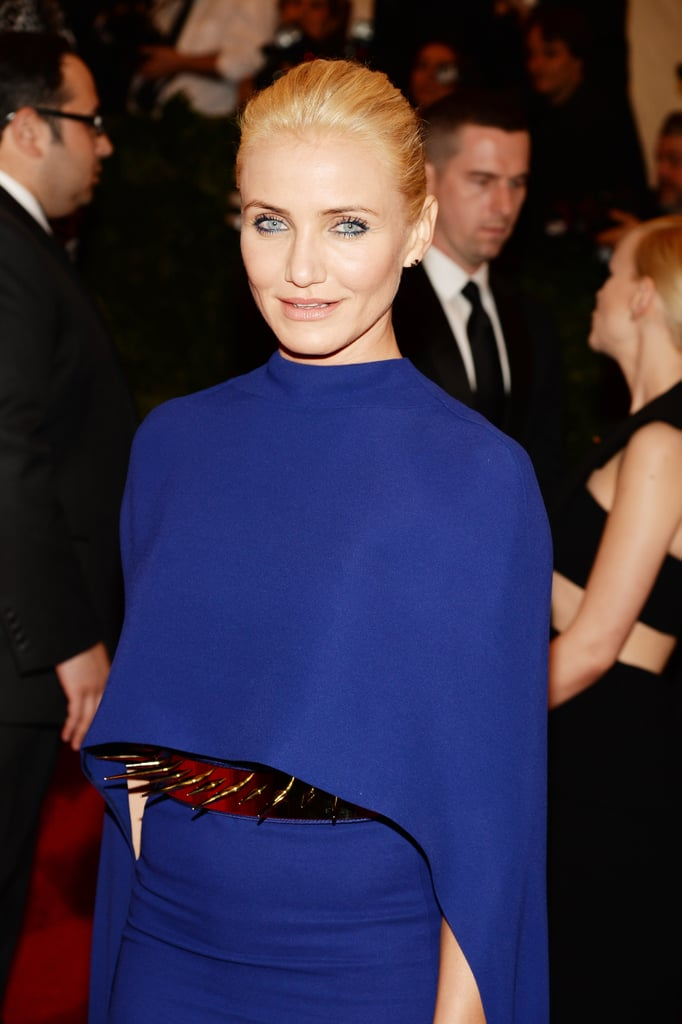 Cameron Diaz at the Met Gala 2013.