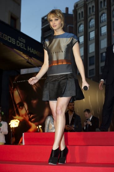 Pictures of Jennifer Lawrence's Hunger Games Premiere Wardrobe: Every Dress From Every Angle!
