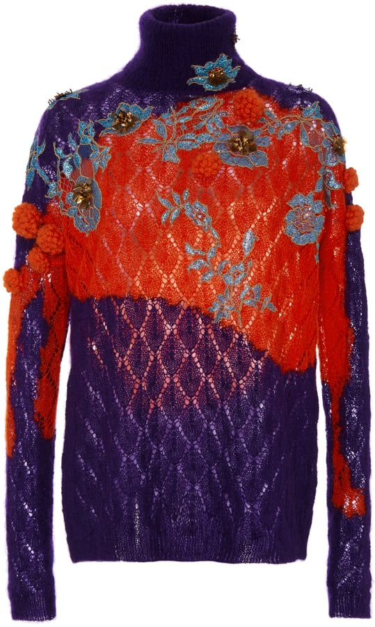 Delpozo Embellished Turtleneck Sweater