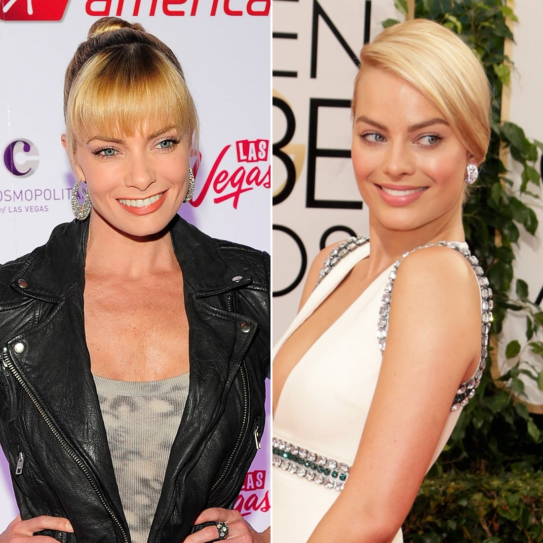 Jaime Pressly And Margot Robbie These Celebrity Look