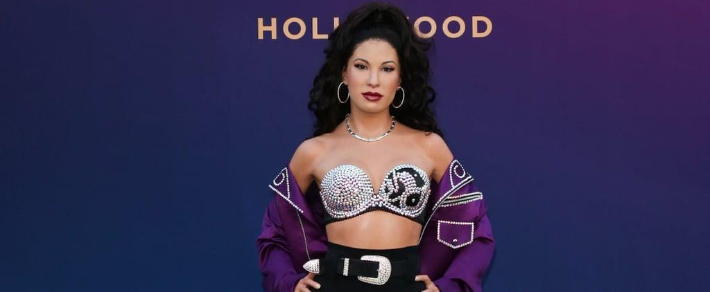 Selena Wax Figure at Times Square