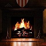 Captain America's Fireplace