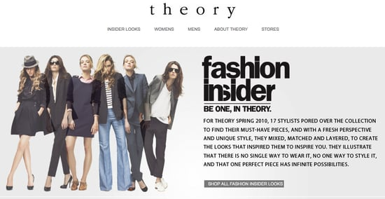 Theory Ecommerce Site