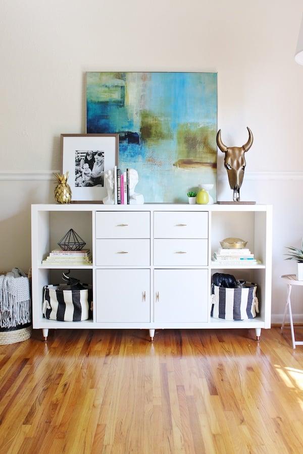 8 DIYs That Prove Kallax Shelves Are Ikea's Most Versatile Product Ever