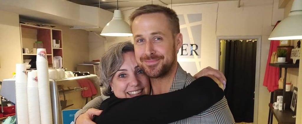 Ryan Gosling Visits a Coffee Shop in Toronto September 2018