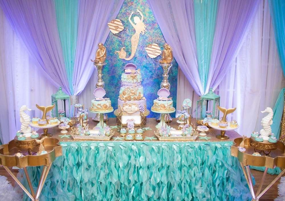 The Little Mermaid Disney Baby Shower Themes Popsugar Moms Photo 4