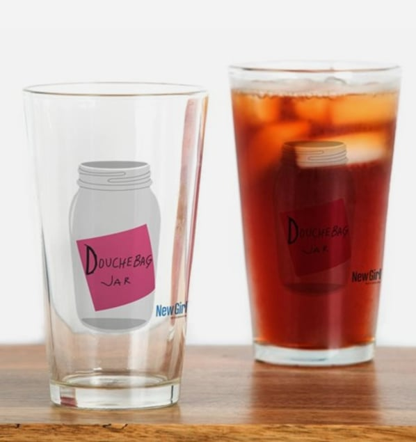 Douchebag Jar Drinking Glass ($13)
