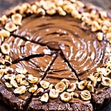 Vegan Avocado Chocolate Hazelnut Tart