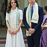 The two looked picture-perfect while visiting Gandhi Smriti, in New Delhi, India, in April.