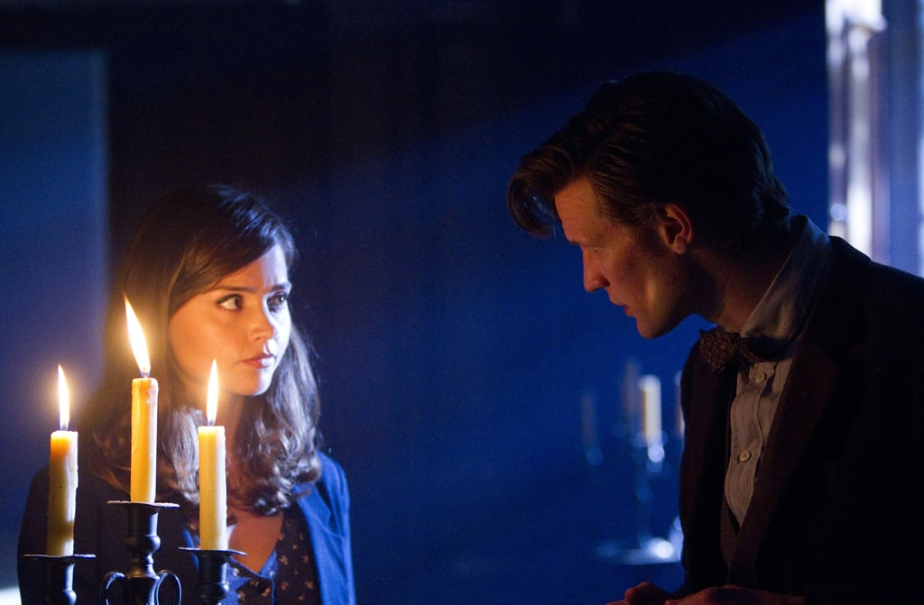 The Doctor and Clara pondering . . . again.