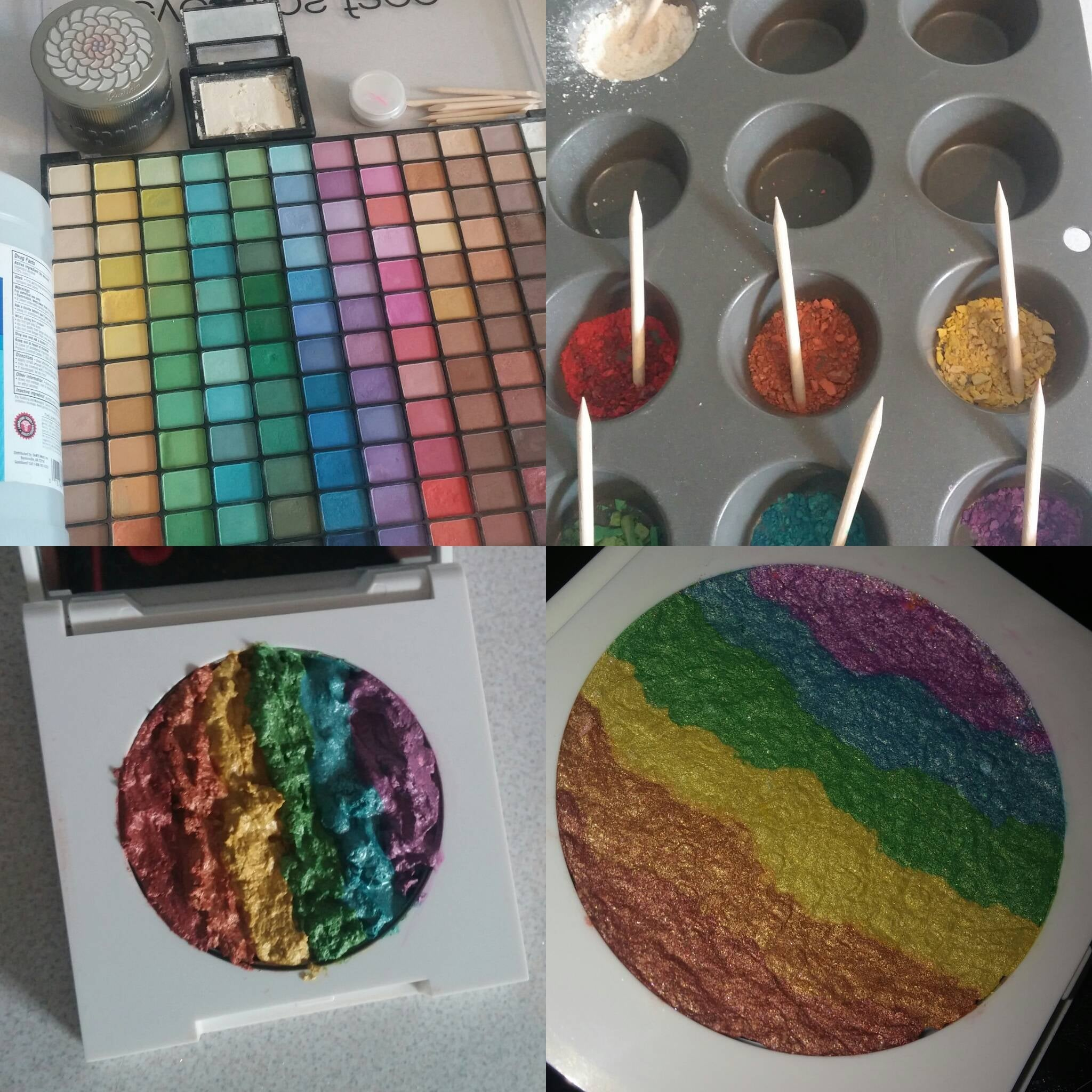rainbow makeup palette. share this link rainbow makeup palette