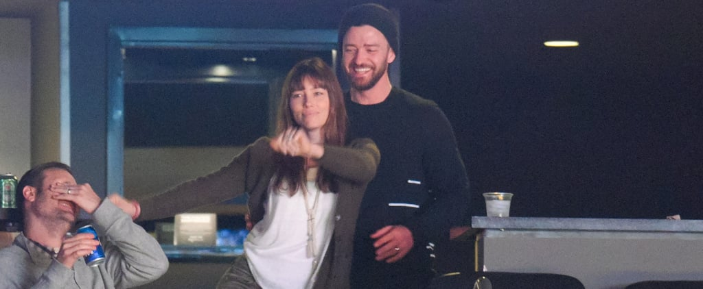 The Only Thing Cuter Than Jessica Biel's Dance Moves Is Justin Timberlake's Reaction to Them