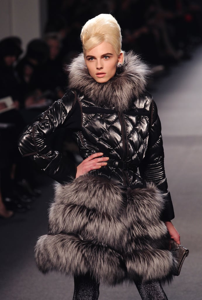 Andrej walks in Jean Paul Gaultier's Fall/Winter RTW show in Paris this year.