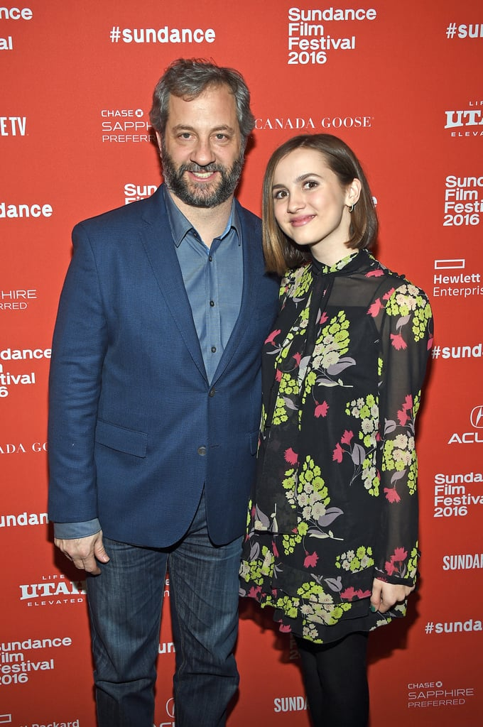You Won't Believe How Grown Up Judd Apatow's Daughter Looks at Sundance