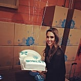 Jessica Alba celebrated the second anniversary of her Honest Company. Source: Instagram user jessicaalba