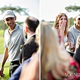 See the Sweet Moment Barack Obama Crashed a Wedding in San Diego