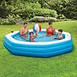 Summer Waves Inflatable 9' Octagon Family Swimming Pool