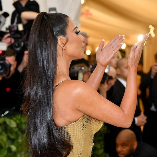 Kim Kardashian Met Gala Manicure 2018