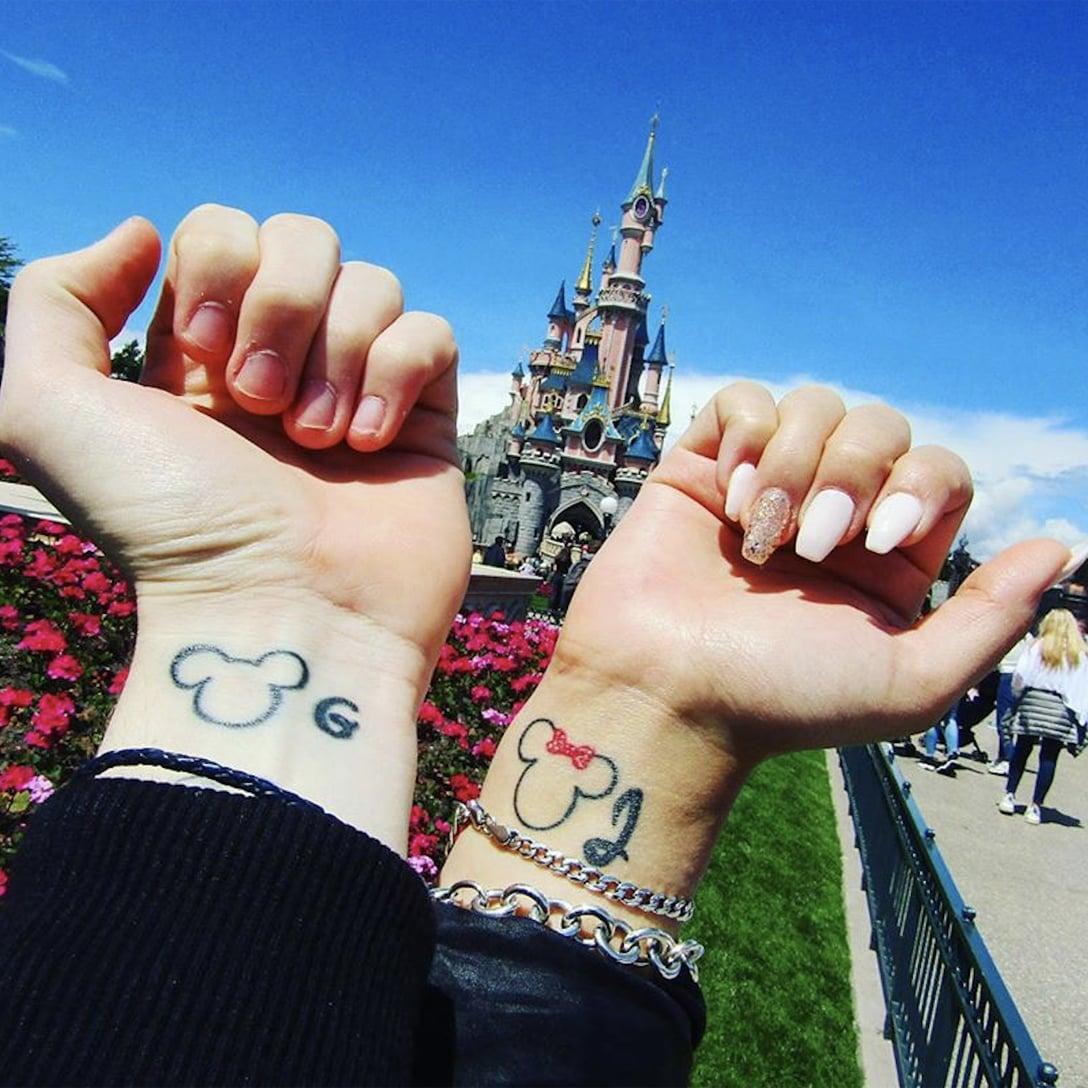 47ae00666 Disney Couple Tattoos | POPSUGAR Love & Sex