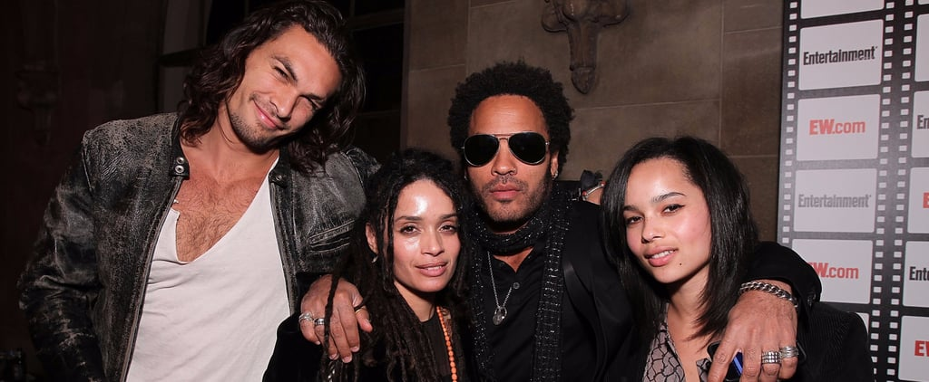 Zoe Kravitz Family Pictures