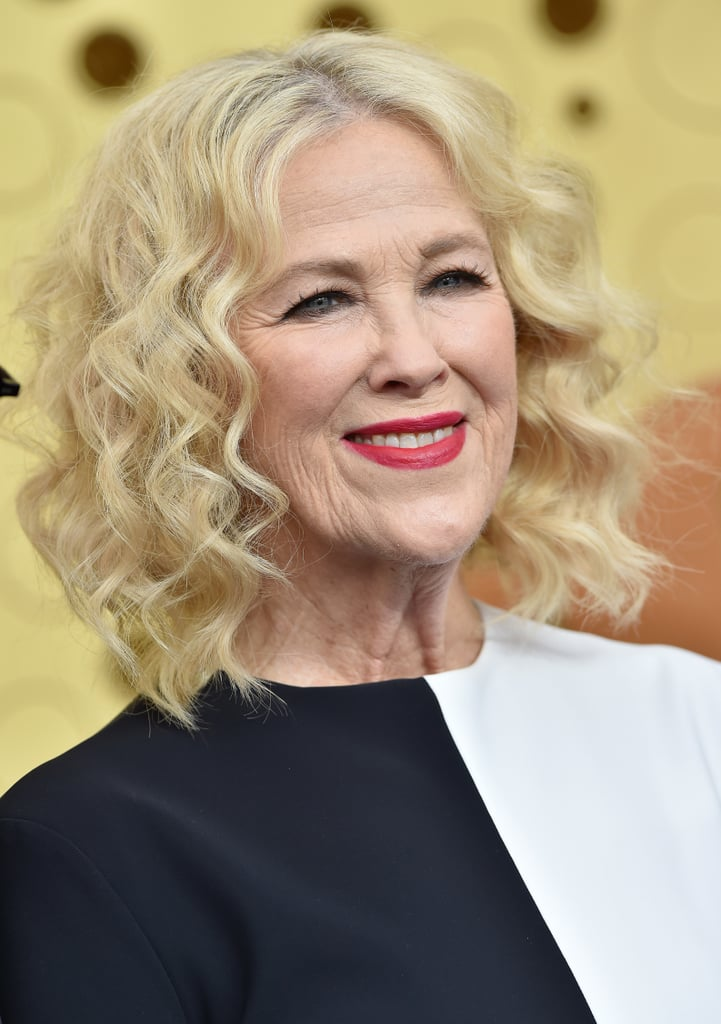 Catherine O'Hara's Curly Bob at the Emmys 2019