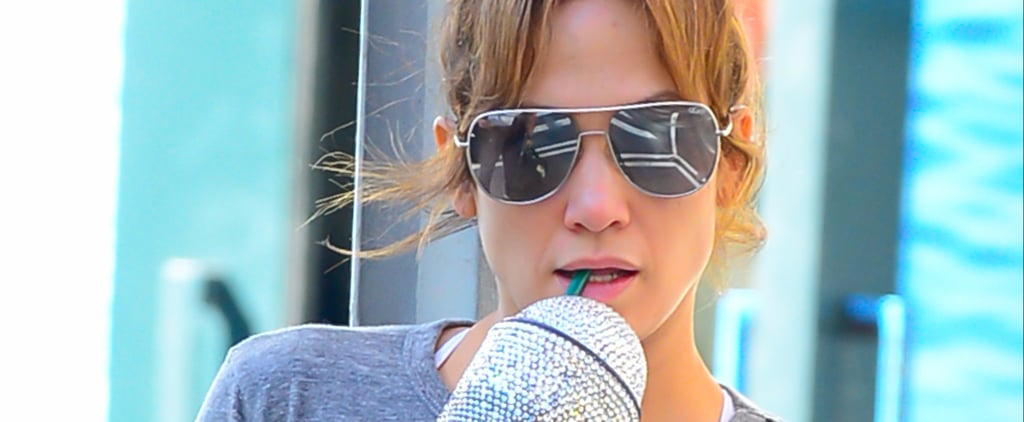 Jennifer Lopez's Swarovski Starbucks Cup Is How Extra We Aspire to Be