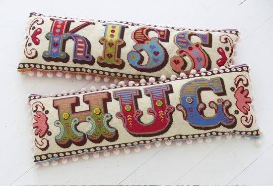 Etsy Find: Hug Kiss Needlepoint Kit