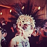 Only SJP could wear serious headgear like this to the Met Gala and totally own it. Respect.