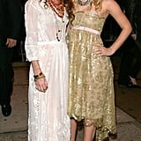 Mary-Kate and Ashley Olsen in May 2005