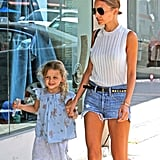Nicole Richie Spends the Day With Harlow and Perfects Her Instagram Skills