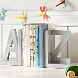 Gray A-Z Bookend
