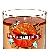 Bath and Body Works Pumpkin Peanut Brittle 3-Wick Candle