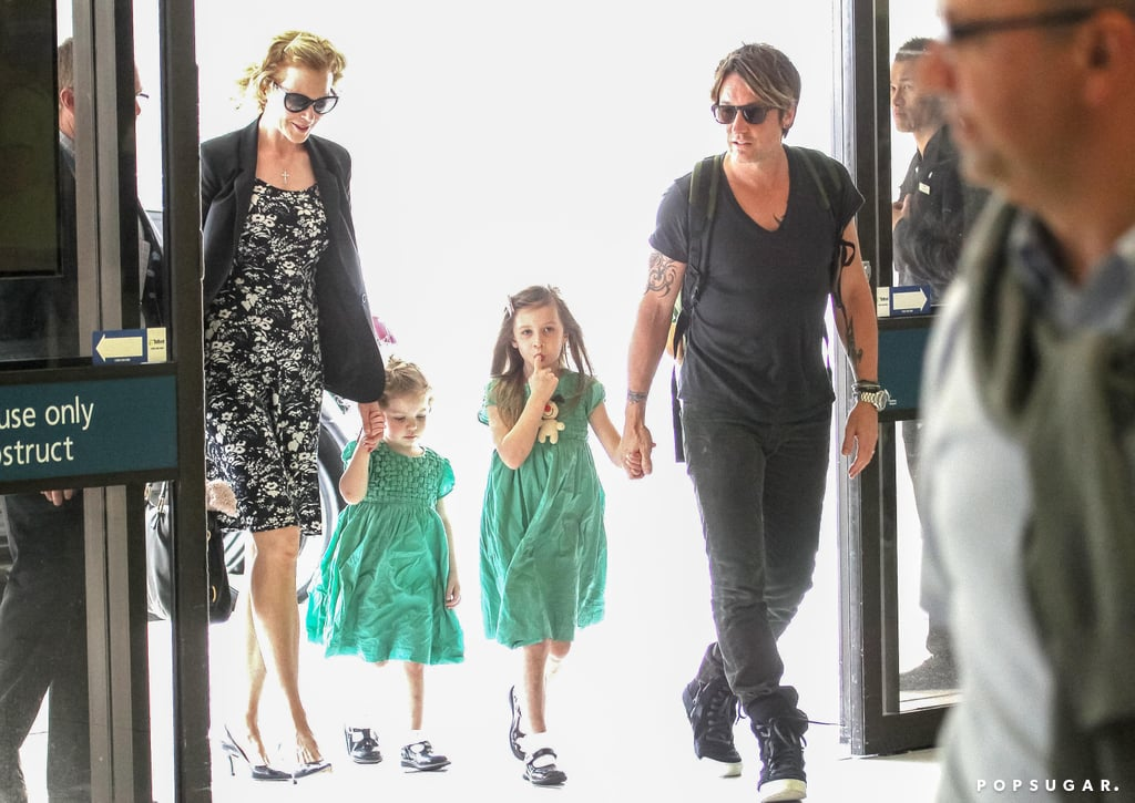 Nicole Kidman And Keith Urban At The Airport In Australia
