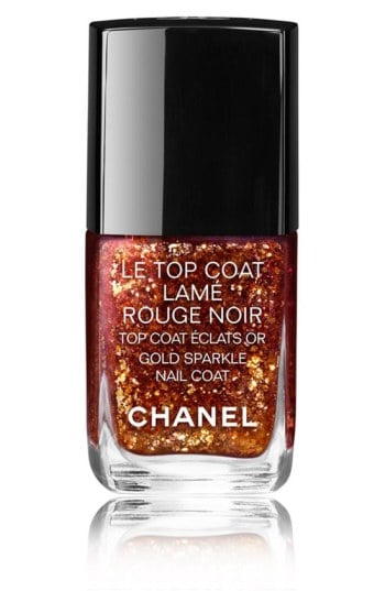 truly unique Chanel glitter lacquer
