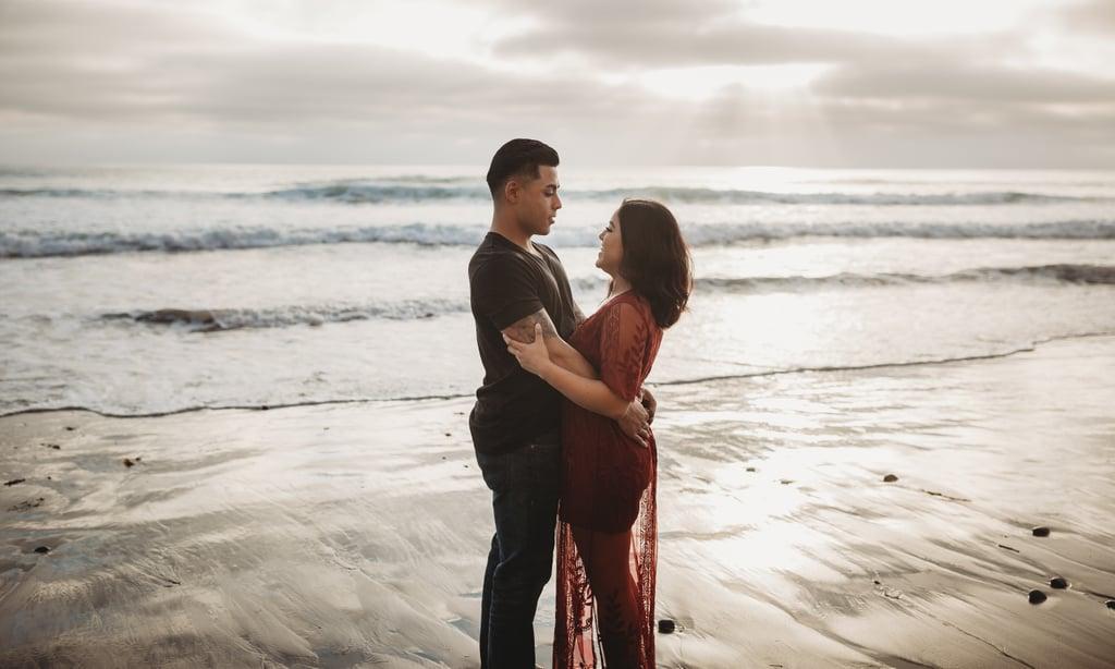 Romantic Beach Couple Pictures | POPSUGAR Love & Sex Photo 3