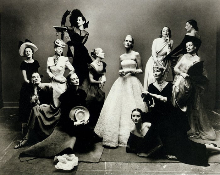 Twelve of the Most Photographed Models of the Period, 1947