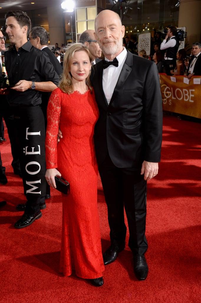 Michelle Schumacher and J.K. Simmons