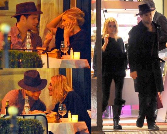 Photos of Ashley Olsen and Justin Bartha's Cute Dinner