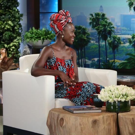 Lupita Nyong'o on The Ellen DeGeneres Show September 2016