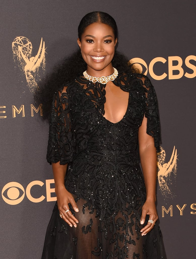 "Gabrielle Union Flaunts a ""Power Pony"" at the Emmys — and Looks Flawless!"