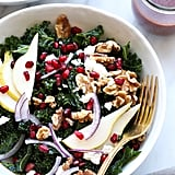 Pomegranate and Pear Kale Salad