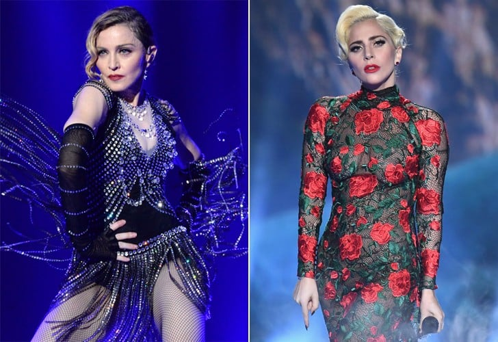 Lady Gaga and Madonna's Feud