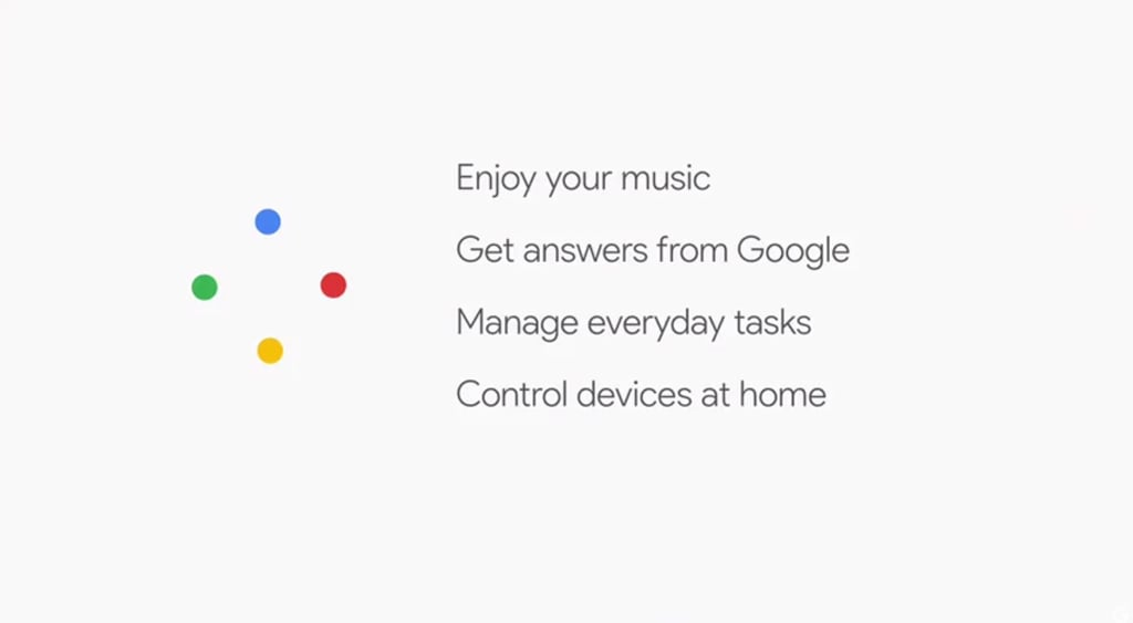 Just a small list of what you can do with Google Home.