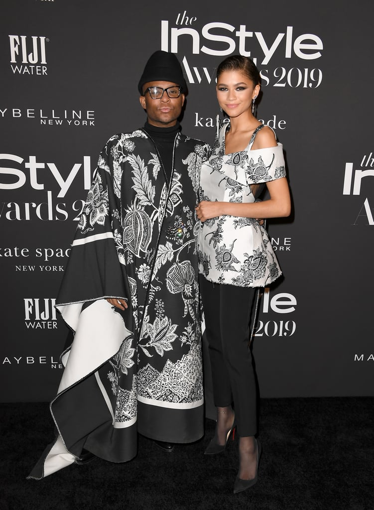 Law Roach and Zendaya at the 2019 InStyle Awards