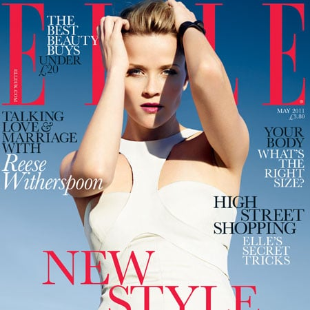 Pictures of Reese Witherspoon in May 2011 Elle UK