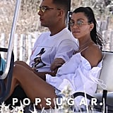 Kourtney Kardashian and Her Model Beau Jet Off to St.-Tropez For a Romantic Getaway