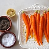 Steamed Carrots With Olive Oil and Lemon Juice