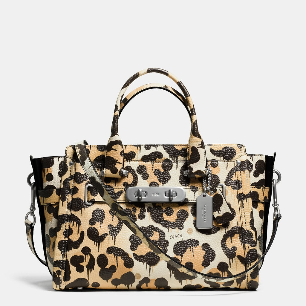 351b20e9a4382 Coach Swagger in Wild Beast Print Pebble Leather ( 650). Share This Link
