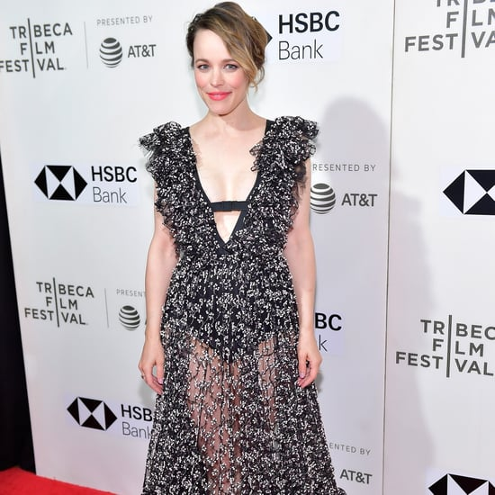 Rachel McAdams's Sheer Giambattista Valli Dress 2018